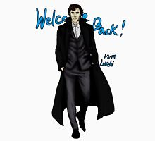 Sherlock Returns! Unisex T-Shirt