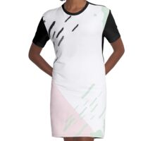 Green Track Pattern // Shirt // Dress // Poster Graphic T-Shirt Dress