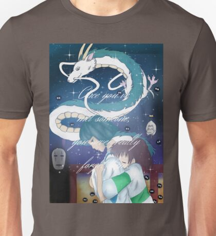 Spirited Away Fan Art Print Unisex T-Shirt