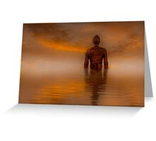 Another Place , Antony Gormley  Greeting Card