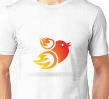Fire a bird Unisex T-Shirt