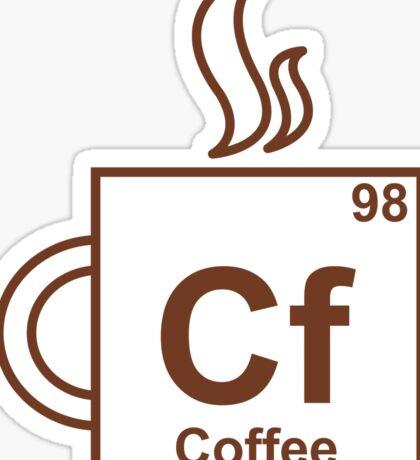 Coffee Element Sticker