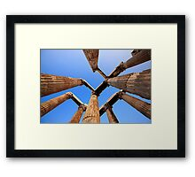 Temple of Olympian Zeus - Athens Framed Print