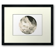 Cloudy Night Framed Print