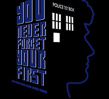 You Never Forget Your First - Doctor Who 6 Colin Baker by JadBean