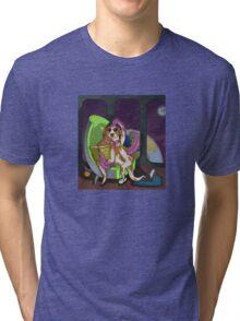 Extraterrestrial Dog Tri-blend T-Shirt