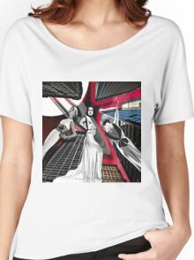 SKYSCRAPER MODELS Women's Relaxed Fit T-Shirt