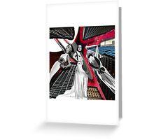 SKYSCRAPER MODELS Greeting Card