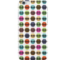Bow tie pattern. Flat icons with hipsters style iPhone Case/Skin
