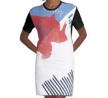 Saint Tropez Pattern // Shirt // Dress // Poster Graphic T-Shirt Dress