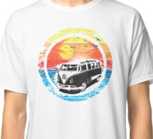 VW / Volkswagen Kombi Sunset Design Classic T-Shirt