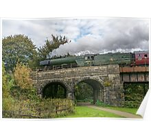 The Flying Scotsman. Poster