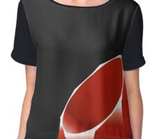 Ruby - Programming Language Logo Chiffon Top
