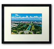 DC from Above Framed Print
