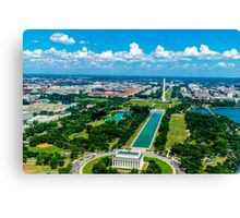 DC from Above Canvas Print