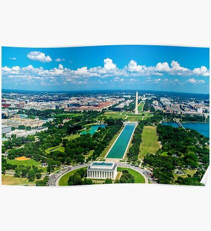 DC from Above Poster