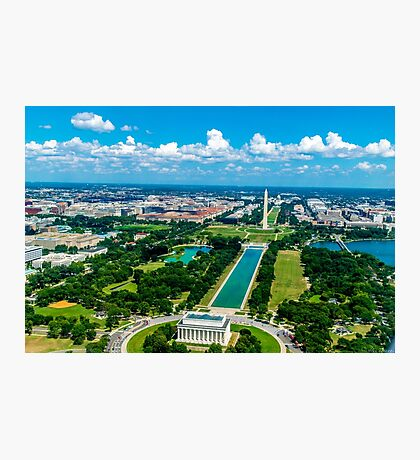 DC from Above Photographic Print