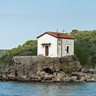 Church of Panagia Gorgona on Lesvos by Sue Robinson