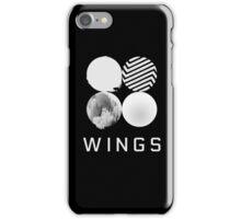 BTS - black wings phone case iPhone Case/Skin