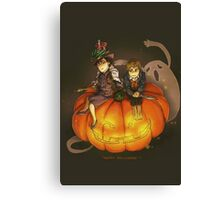 Sherlockian Hallowen Canvas Print