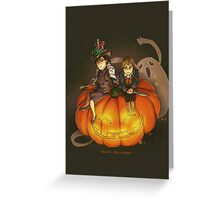 Sherlockian Hallowen Greeting Card