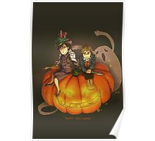 Sherlockian Hallowen Poster