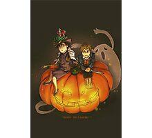 Sherlockian Hallowen Photographic Print