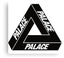 Palace Black Logo Clothing Canvas Print