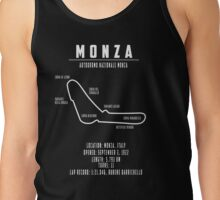 Map of Monza Tank Top