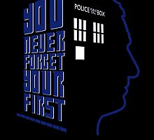 You Never Forget Your First - Doctor Who 9 Christopher Eccleston by JadBean
