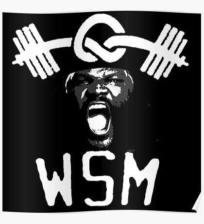 W.S.M. | Mark Henry Poster