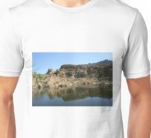 Ayer Lake, Boyce Thompson Arboretum, Superior AZ Unisex T-Shirt