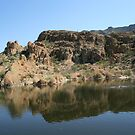 Ayer Lake, Boyce Thompson Arboretum, Superior AZ by Maurine Huang