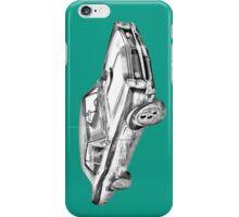 1967 Pontiac GTO Muscle Car Illustration iPhone Case/Skin