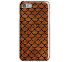 SCA1 BK-BR MARBLE (R) iPhone Case/Skin