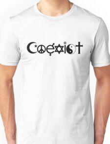 COEXIST 0001 Unisex T-Shirt
