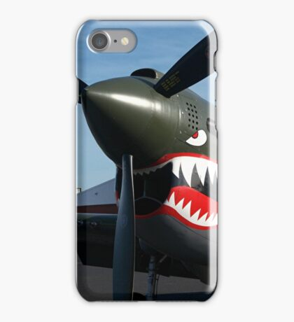 Curtiss P- 40 N - Kittyhawk.............! iPhone Case/Skin