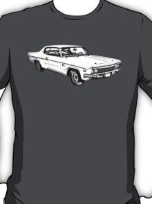 1966 Chevrolet Caprice 427 Car Illustration T-Shirt