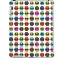 Bow tie pattern. Flat icons with hipsters style iPad Case/Skin