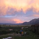 Carson Valley Sunset, Genoa, NV by Maurine Huang