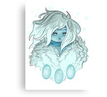 Winter Witch Canvas Print