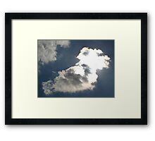 The Son is Shinning Through Framed Print