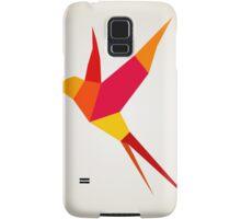 Red bird Samsung Galaxy Case/Skin