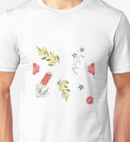 Wattle and banksia and more Unisex T-Shirt