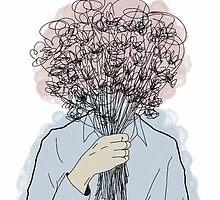 Shy as a Morning Glory. by flowerprince