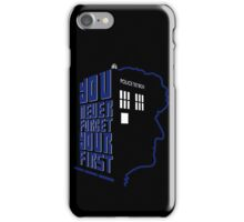You Never Forget Your First - Doctor Who 3 Jon Pertwee iPhone Case/Skin