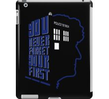 You Never Forget Your First - Doctor Who 3 Jon Pertwee iPad Case/Skin
