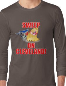 Cleveland Indians Sweep Blue Jays T-Shirt - ALCS Playoffs 2016 Long Sleeve T-Shirt