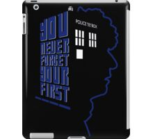You Never Forget Your First - Doctor Who 4 Tom Baker iPad Case/Skin