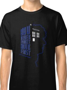 You Never Forget Your First - Doctor Who 4 Tom Baker Classic T-Shirt